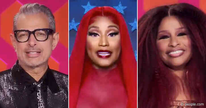RuPaul's Drag Race Taps Jeff Goldblum, Nicki Minaj, Chaka Khan and More as Guest Judges