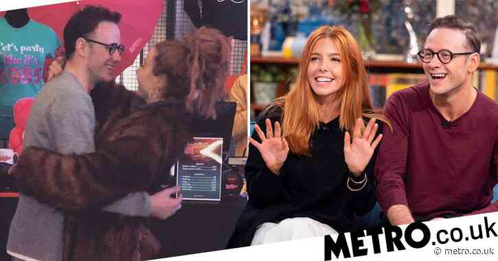 Strictly's Kevin Clifton shares rare snap with 'his girl' Stacey Dooley and it's adorable