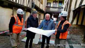 À Pont-Audemer, les travaux pour réhabiliter trois venelles de la Ville ont commencé - Paris-Normandie