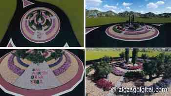 Las rotondas de acceso a San Martín de la Vega reciben un lavado de cara - Zigzag Digital