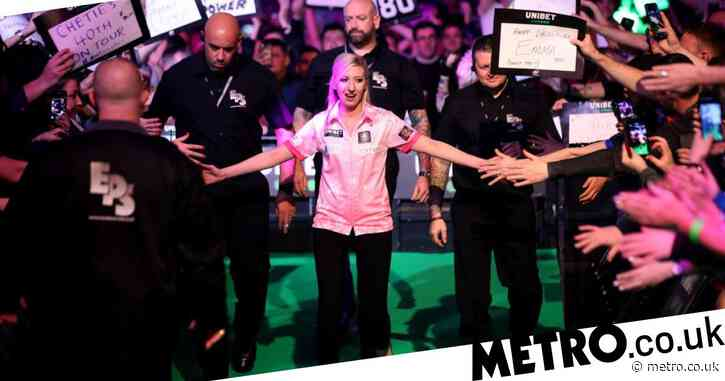 Fallon Sherrock secures thrilling draw against Glen Durrant on Premier League Darts debut