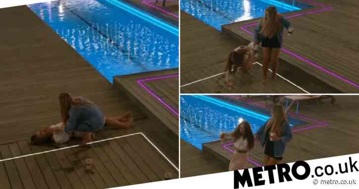 Love Island's Demi Jones stacking it on the deck is most definitely the best moment of the series