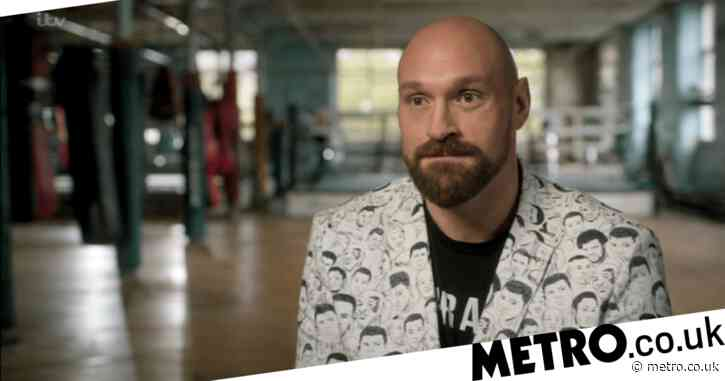 Tyson Fury 'wanted to die on daily basis' as he opens up about hitting rock bottom