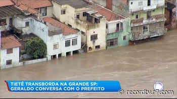 Prefeito de Pirapora do Bom Jesus (SP) fala sobre consequências das chuvas - R7