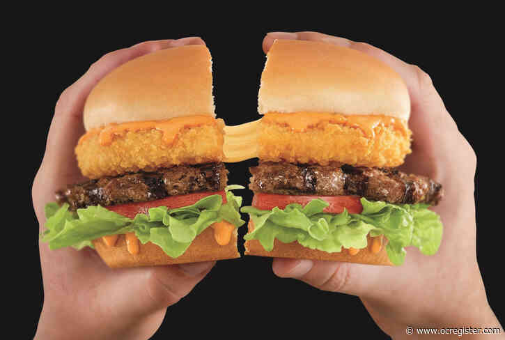 New Carl's Jr. burger oozes with deep-fried cheese
