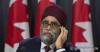 Sajjan applauds Iraq for agreeing to NATO mission expansion