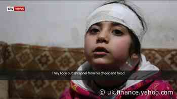 Sky meets the young victims of the Syrian regime