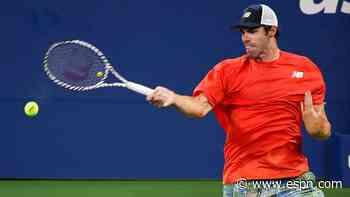 Defending champ Opelka wins New York opener