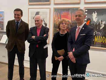 La Hospedería Fonseca se transforma en una peculiar sala de cine para homenajear a Basilio Martín Patino con una exposición - Salamanca 24 Horas