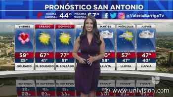 Cielos despejados y soleados para este jueves en San Antonio - Univision