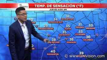 Se esperan temperaturas fría para San Valentín en San Antonio - Univision