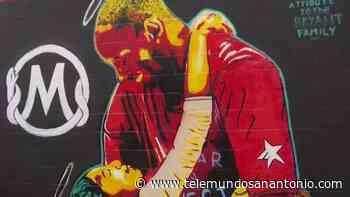 Pintan mural en honor a Kobe Bryant en McAllen - Telemundo San Antonio
