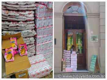 Refuerzo alimentario para el Hogar San Antonio - Jujuy al día