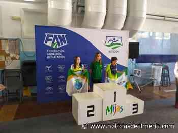 Ainhoa Pedrosa, del CN Almería, brilla en el Campeonato de Andalucía Alevín - Noticias de Almería