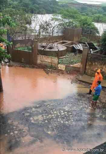 Rio Itabapoana ameaça transbordar em Bom Jesus do Norte - A Gazeta ES