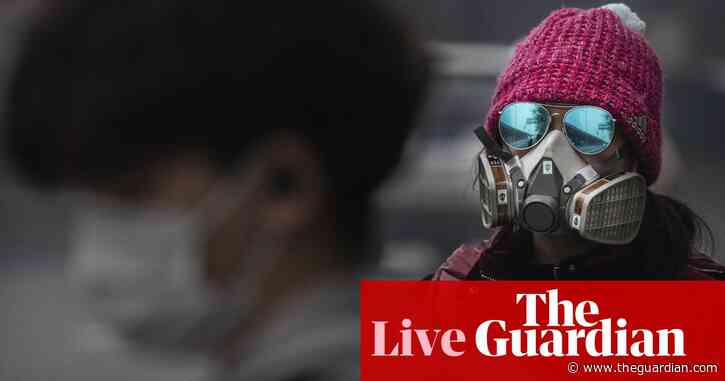 Coronavirus latest updates: death rate in China's Hubei slows after spike – live news