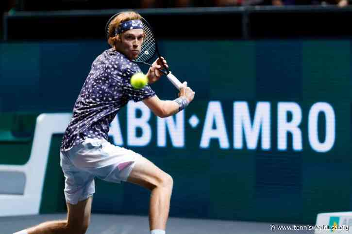 ATP Rotterdam: Andrey Rublev shines again. Stefanos Tsitsipas, David Goffin bow out
