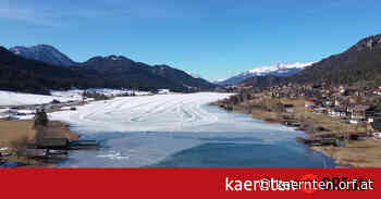 Eislaufen nur noch am Weissensee möglich - ORF.at
