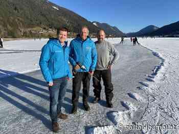 Natureisfläche am Weissensee ab 1.1.2020 zum Eislaufen freigegeben! - Gailtal Journal