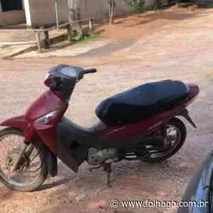 Moto furtada em Porangatu é recuperada - FolhaGO