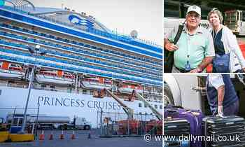 Caribbean Princess passengers with stomach bug arrive in Florida 3 days early