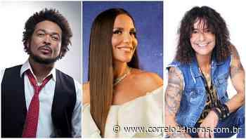 Baile Bahia Real Masqué reúne Ivete, Jau e Luiz Caldas - Jornal Correio