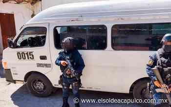 Aseguran vehículo con reporte de robo en Cocula - El Sol de Acapulco