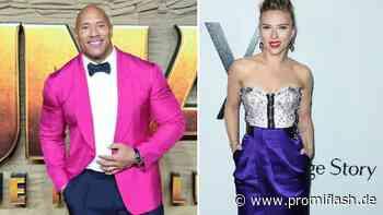 The Rock & Scarlett Johansson sind bestbezahlte Filmstars - Promiflash.de