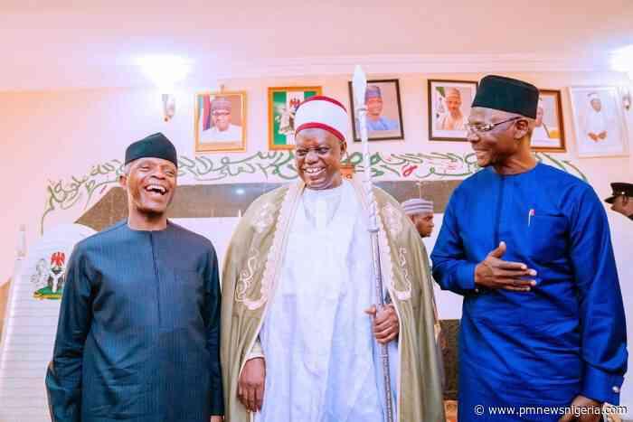 Osinbajo revolutionised judiciary in Nigeria – Emir of Lafia - P.M. News