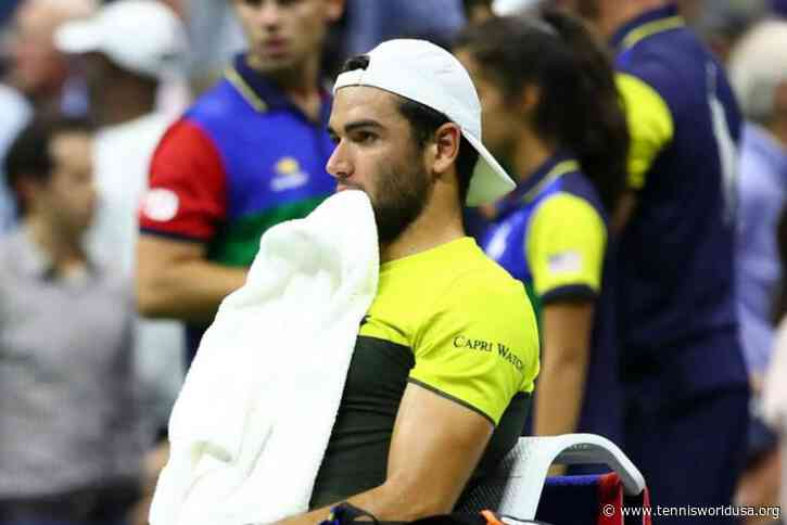 Injury forces Matteo Berrettini to skip Rio Open