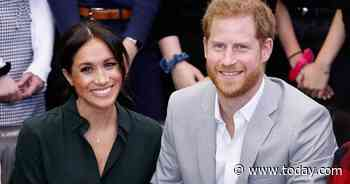 Prince Harry and Meghan Markle visit Stanford University