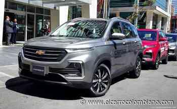 Chevrolet presentó en Colombia la nueva Captiva Turbo de 7 puestos - El Carro Colombiano