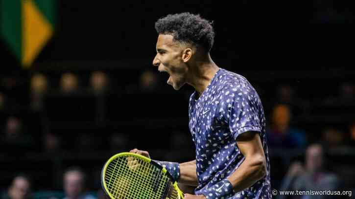 Felix Auger-Aliassime extremely satisfied with performance against Grigor Dimitrov