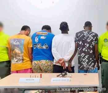 Caen cuatro presuntos pandilleros en Arjona | EL UNIVERSAL - Cartagena - El Universal - Colombia