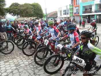 Ciclomontañismo se tomó a Gualmatán - Diario del Sur