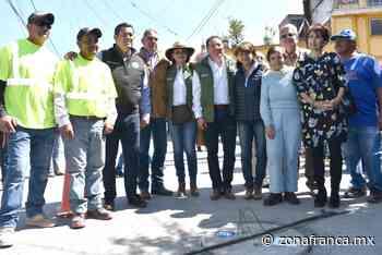 Benefician CEAG más de 3 mil habitantes de Jaral del Progreso con la entrega de obras de agua y drenaje - Zona Franca