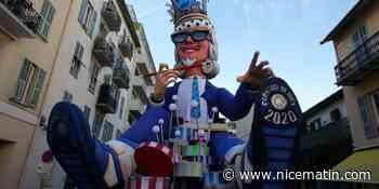 À la veille du Carnaval de Nice 2020, première sortie pour le roi et la reine ce vendredi soir