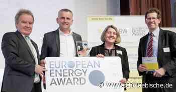 Bad Wurzach erhält erneut den Energy Award - Schwäbische