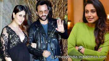 This is what Rani Mukerji told Saif Ali Khan when he was dating Kareena Kapoor