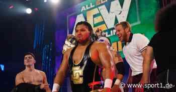 Jeff Cobb gibt Debüt bei AEW - Velveteen Dream provoziert bei NXT - SPORT1