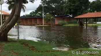 Rio Tietê transborda e invade avenida de Barra Bonita - G1