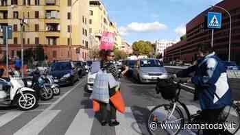 Una corazza di cuscini per far attraversare i pedoni: 'solo frenate dolci' da Montesacro a Ostia