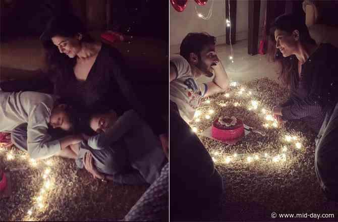 Sushmita Sen celebrates Valentine's Day with boyfriend Rohman Shawl, daughters Renee, Alisah
