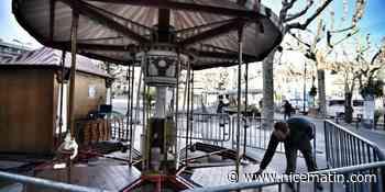 Entièrement rénové, l'emblématique carrousel de Vence s'apprête à rouvrir