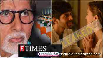 Amitabh Bachchan remembers Pulwama martyrs on first death anniversary; Kartik Aaryan-Sara Ali Khan starrer 'Love Aaj Kal' leaked on day of release, and more...