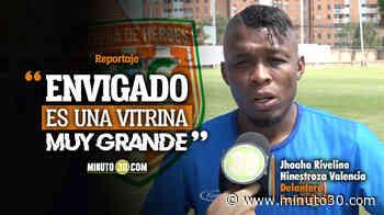 Jhoaho Rivelino Hinestroza Valencia espera ser protagonista con Envigado en la Liga I - Minuto30.com