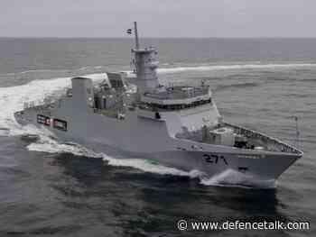 Pakistani Navy Commissions New Damen Corvette