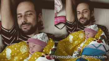 Kalki Koechlin does Valentine's Day right with her 'guy' and 'girl', shares the first clear picture of baby Sappho laying on daddy's chest