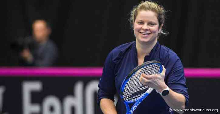 Kim Clijsters Arrives in Dubai for Comeback Tournament