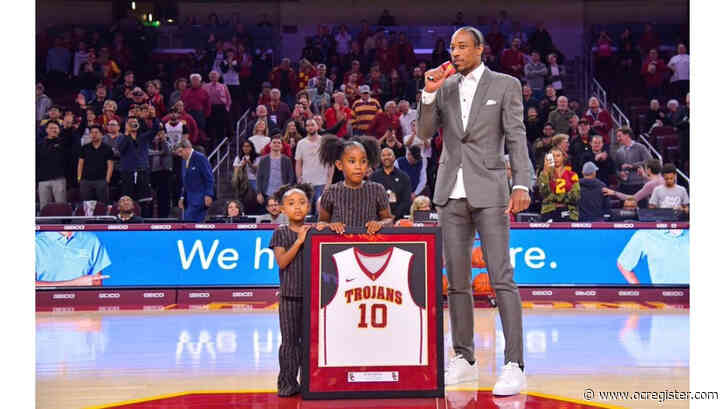 DeMar DeRozan speaks of college joys, regrets as USC honors him